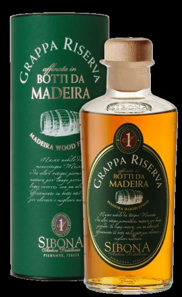 Sibona Grappa Riserva Botti da Madeira 0,5l 40%