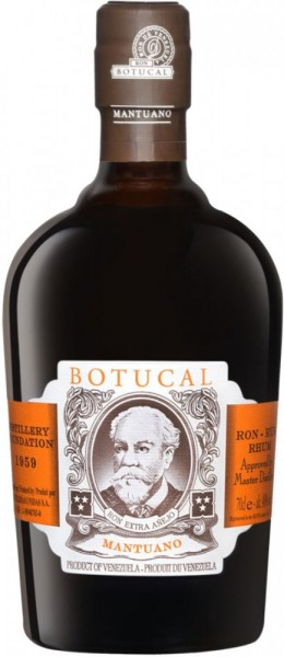 Botucal Rum Mantuano 40% - 700 ml