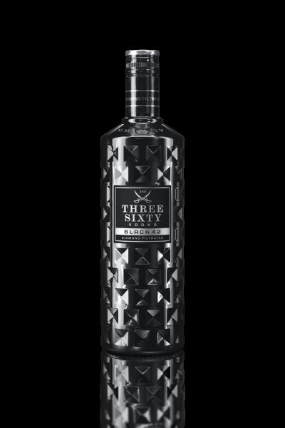 Three Sixty Vodka Black