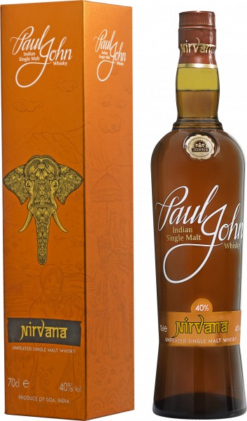 Paul John Nirvana - Unpeated Single Malt in Geschenkverpackung