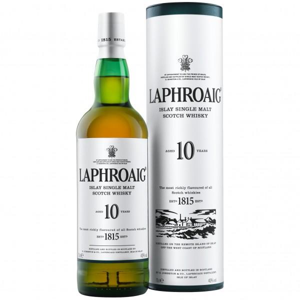 Laphroaig 10 Years Old Islay Single Malt Scotch Whisky 0,7l 40%