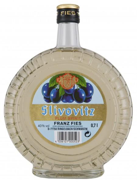 Slivovitz Original Fies Uhrenflasche