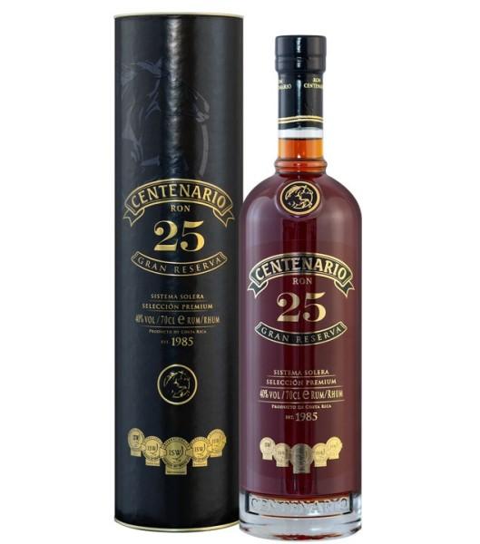 Centenario Rum 25 Gran Reserva 40% - 700 ml
