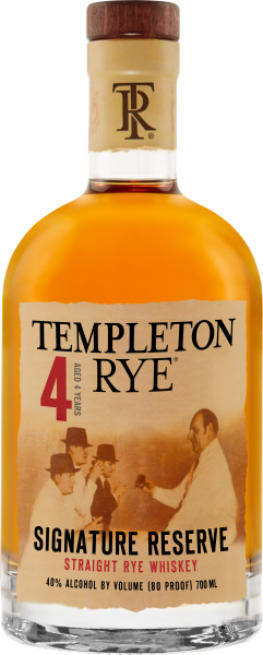 Templeton Rye Whiskey 4 Year