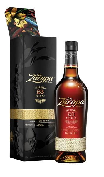 Ron Zacapa Solera 23 Rum 0,7l 40% mit Geschenkpackung
