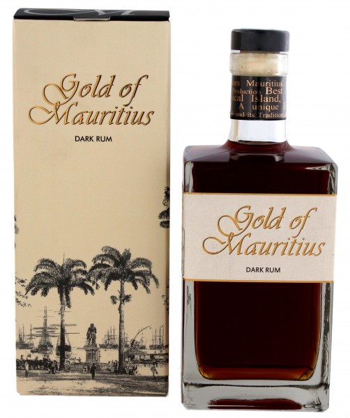 Gold of Mauritius Dark Rum 0,7L in GP