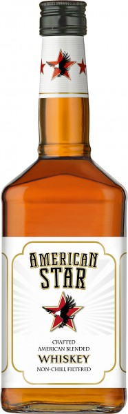 American Star Crafted Blended Whisky 0,7l 40%