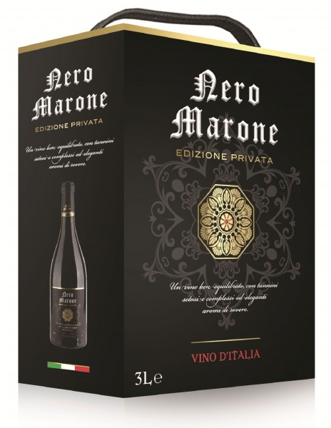 Nero Marone Rot Bag In Box 3l