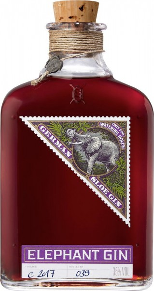 Elephant Sloe Gin 35% - 500 ml