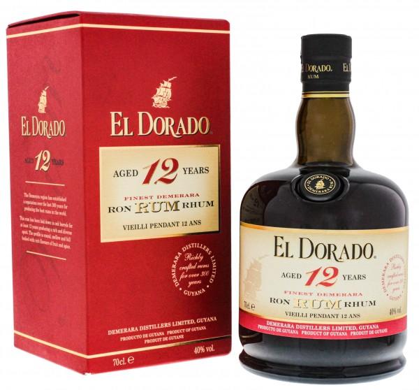 El Dorado Rum 12YO 0,7L in GP