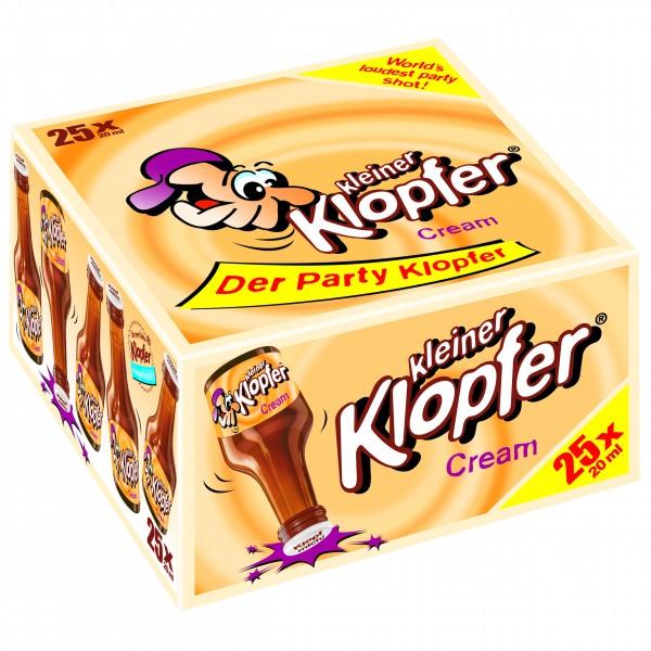 Kleiner Klopfer Cream 25 x 0,02 L