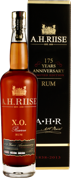 A. H. Riise X.O. Reserve 175 Anniversary Rum
