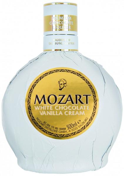 Mozart White Chocolate Cream Vanilla 0,5l 15%