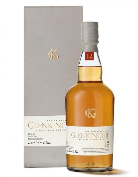 Glenkinchie 12 Jahre Single Malt Scotch Whisky 0,7l mit Geschenkverpackungen