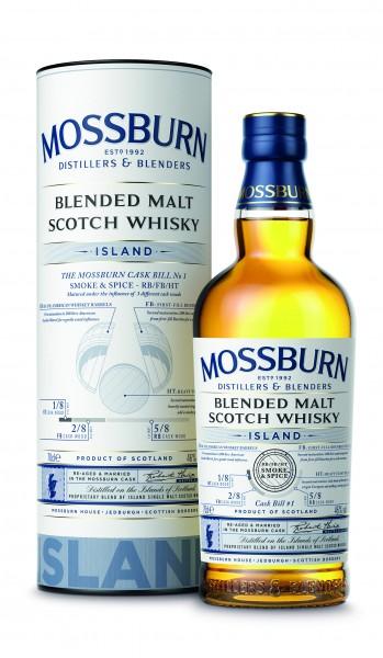 "Mossburn Island ""Smoke and Spice"" Cask No. 1"