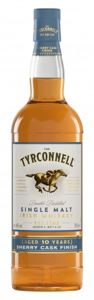 The Tyrconnell 10 Years Sherry Cask 46% 0,7l