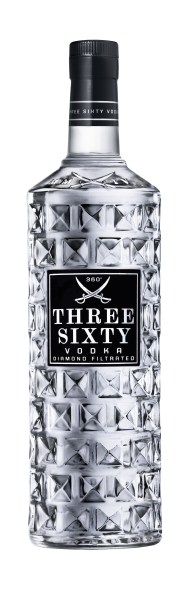 Three Sixty Vodka Original 3,0 L