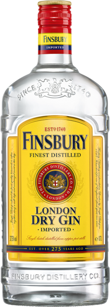 Finsbury London Dry Gin 37.5% 0,7l