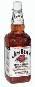 Jim Beam White Kentucky Straight Bourbon Whiskey 40% 1,5l