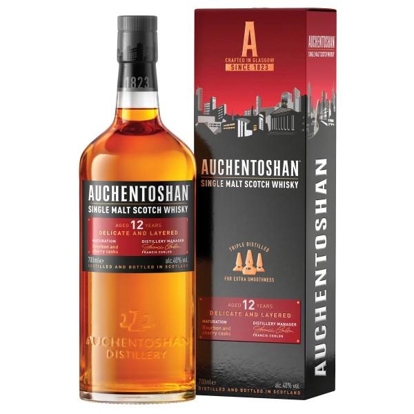 Auchentoshan 12 Jahre Single Malt Scotch Whisky 0,7l 40%