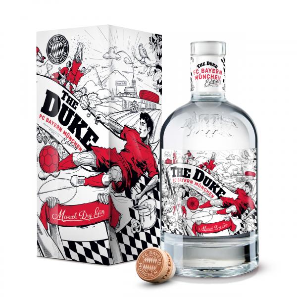 THE DUKE - Liberalitas Bavarica Gin 0,7L - FC Bayern München Edition