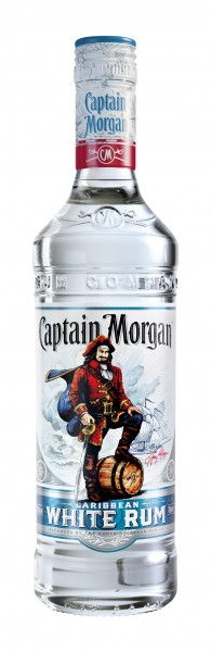 Captain Morgan White Rum 0,7l