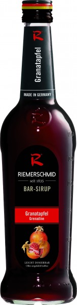 Riemerschmid Bar-Sirup Grenadine 0,7l