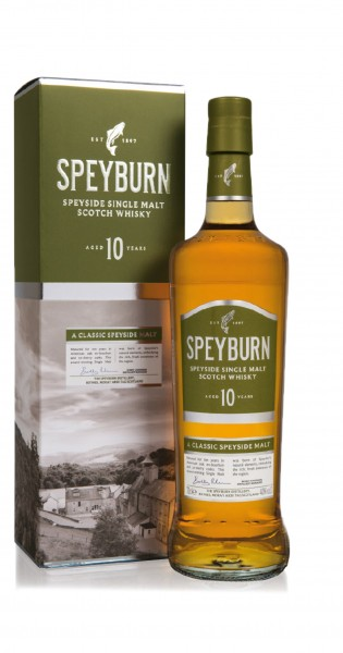 Speyburn · 10 Years Old Scotch · Single Malt Whisky 40% vol · in GP
