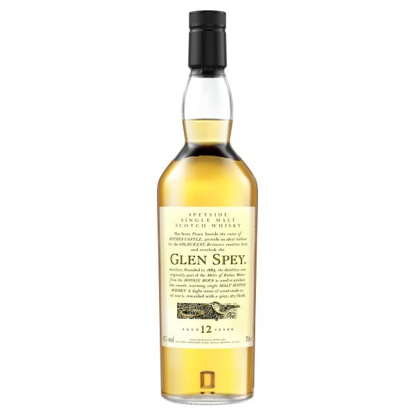 Glen Spey 12 Jahre Speyside Single Malt Scotch Whisky 0,7l 43%