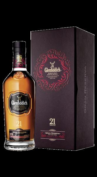 Glenfiddich 21 years Gran Reserva Speyside Malt Whisky 40% 0,7l