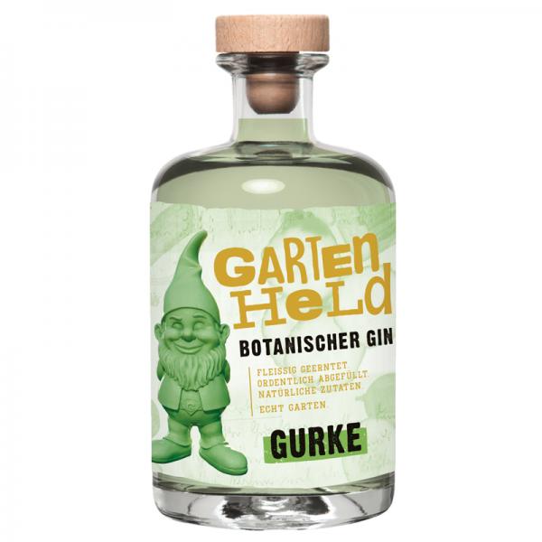 Gartenheld Botanischer Gin Gurke 0,5l