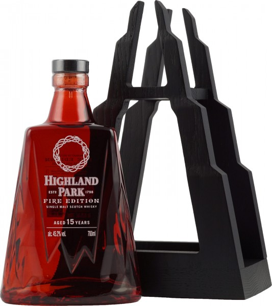 Highland Park FIRE Edition 15 years Orkney Single Malt Whisky 0,7l -streng limitiert