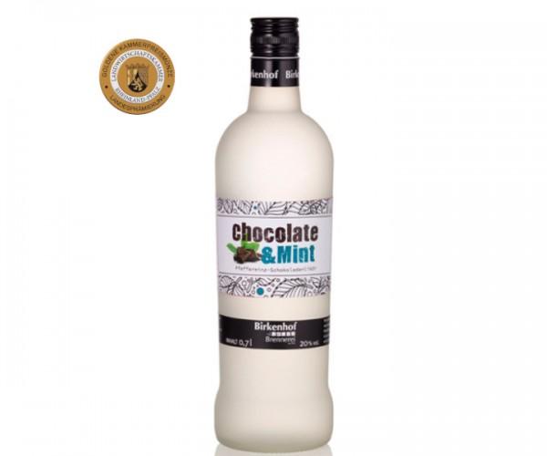Birkenhof Chocolate & Mint - Pfefferminz-Schokoladenlikör