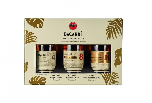 Bacardi Discovery Pack (3x10cl)