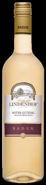 Lindenhof Roter Gutedel QbA Baden halbtrocken 0,75l