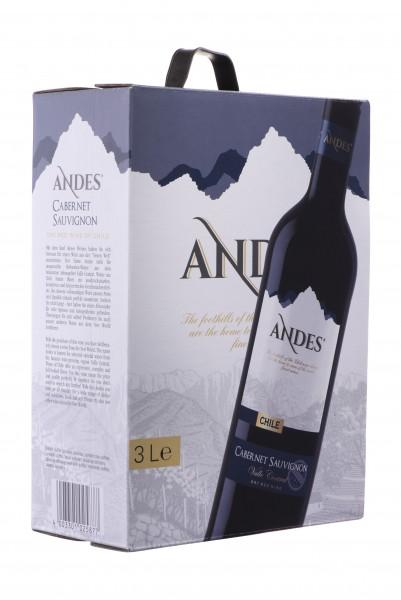 Andes Cabernet Sauvignon Chile 3l Bag-in-Box