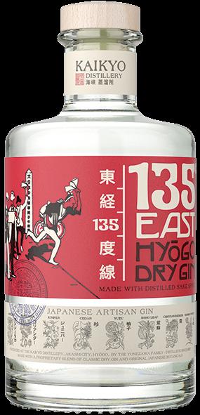 135° East Hyogo Dry Gin