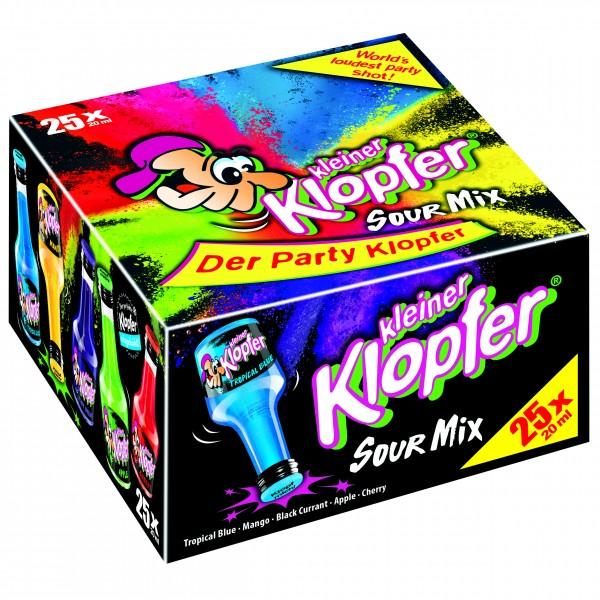 Kleiner Klopfer Sour Mix 25 x 0,02 L