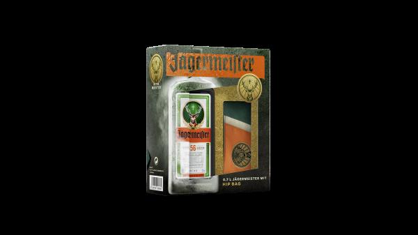 Jägermeister Geschenkpackung mit Gürteltasche