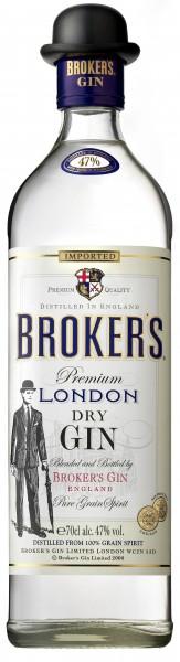Broker's London Dry Gin 0,7l 47%