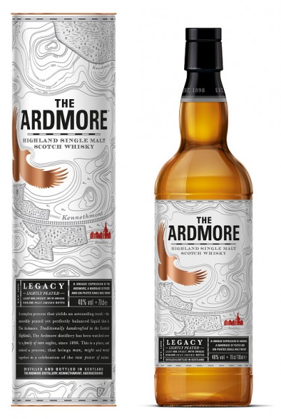 The Ardmore Legacy Highland Single Malt Whisky 0,7l