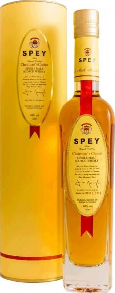 Spey Chairman's Choice 40% vol