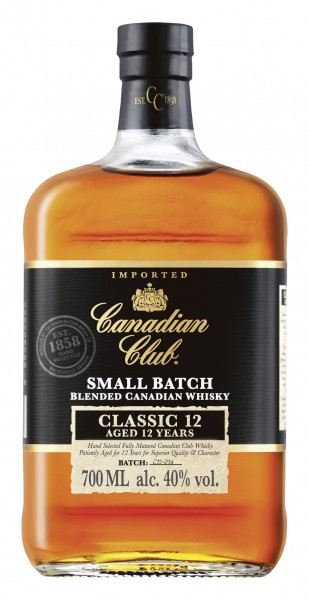 Canadian Club Classic 12 Years Old 40% 0,7l