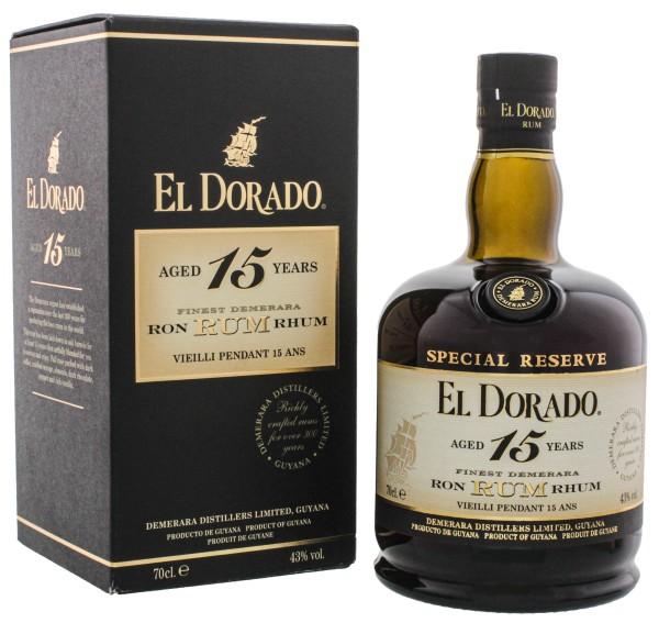 El Dorado Rum 15YO 0,7L in GP