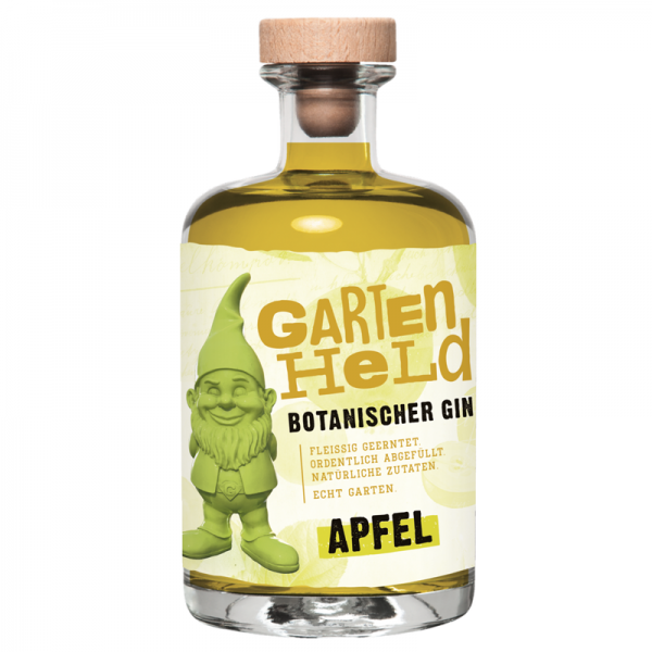 Gartenheld Botanischer Gin Apfel