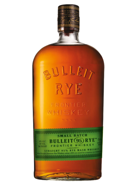 Bulleit Rye Bourbon Small Batch Frontier Whiskey 45% 0,7l
