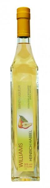 Habbel's Williams Liqueur (Birnenlikör) 0,5l 36%