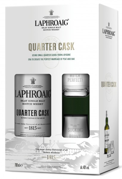 PH Quarter Cask 48% vol. mit 2 Tumblern