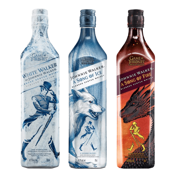 Game of Thrones Johnnie Walker - Set