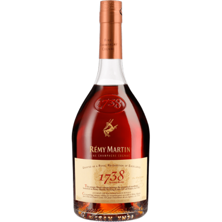 Remy Martin 1738 , 40% vol